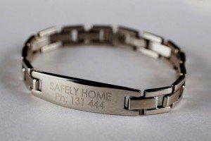Alzheimer S Australia Qld Safely Home Id Bracelet