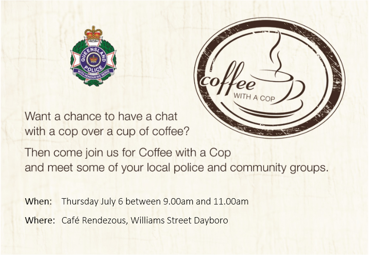 Coffee with a Cop in Dayboro